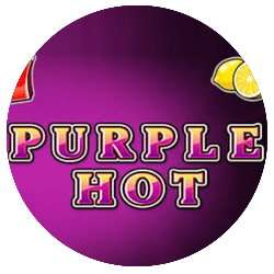 Purple Hot Slot Logo