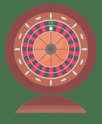 Brown Roulette Wheel