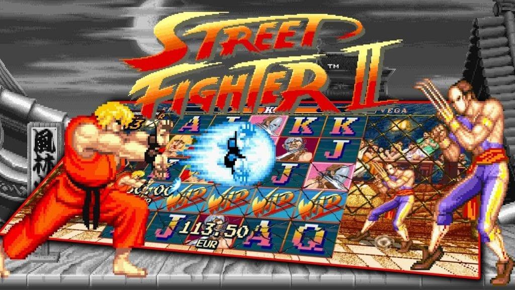 NetEnt Street Fighter 2
